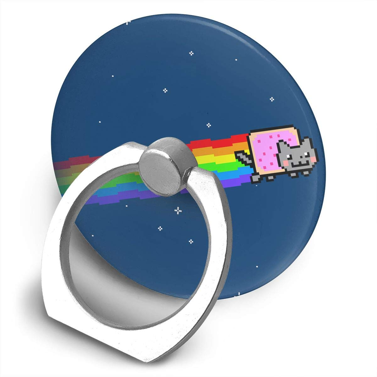 Amazon Cute Nyan Cat Bracket 360 Degree Swivel Creative Ring Buckle Multifunctional Stand For Universal Phone Cell Phones: Nyan Cat Ring Wedding At Reisefeber.org