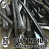 (50) 2.5'' COMMON CUT Nails-Antique Style