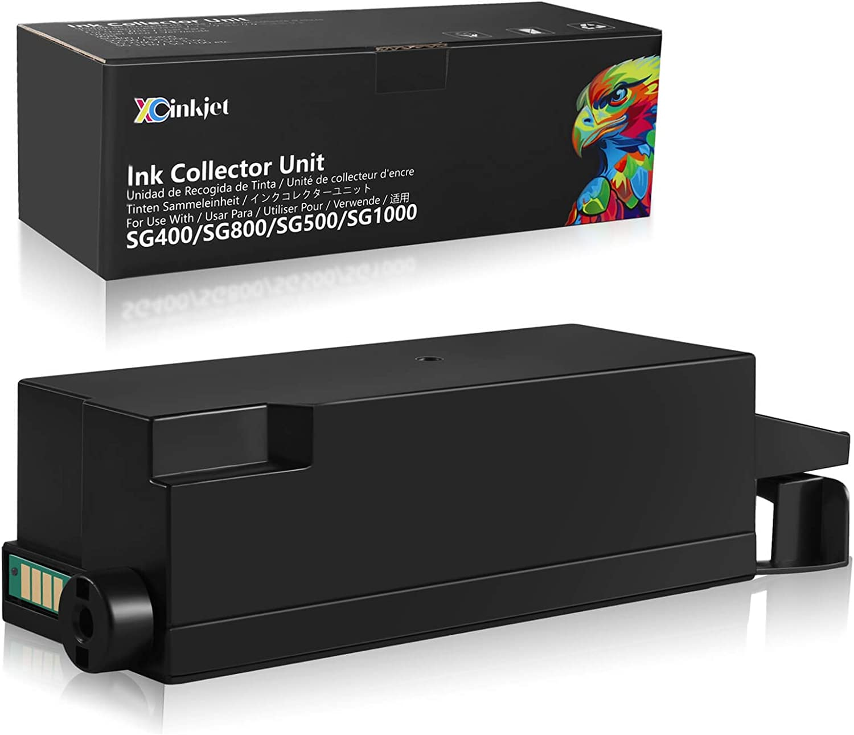 Xcinkjet Waste Collection Unit Compatible for Sawgrass SG400 SG800 SG500 SG1000 Ricoh GC41 Printer