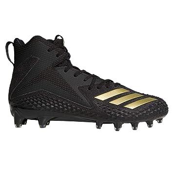 outlet store e7a88 17d99 adidas Freak X Carbon Mid American Football Rasen Schuhe - schwarzGold Gr.  10