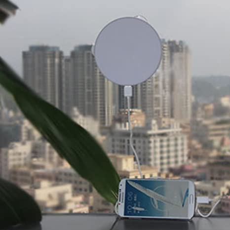 Cargador solar portátil de 1800 mAh, cargador solar para ...