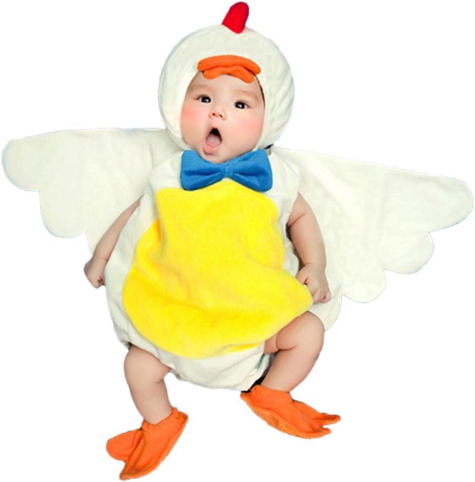 THEE Disfraz de Fotografía de Pollito Bebé Recién Nacido: Amazon ...