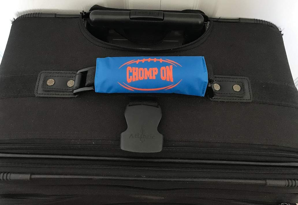 Luggage Spotter Florida Gators Chomp ON Luggage Locator//Handle Grip//Luggage Grip//Travel Bag Tag//Luggage Handle Wrap 2-PK