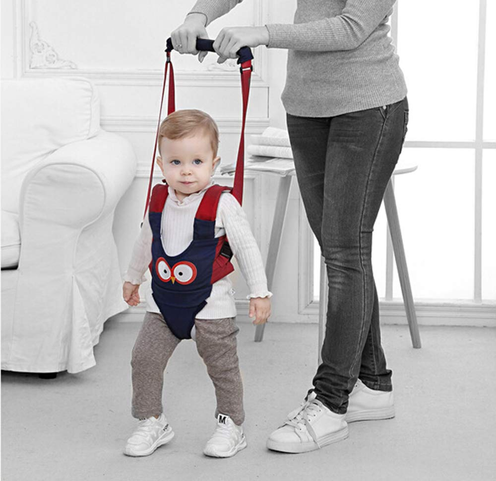 Yellow Baby Walker Walking Harness for Kids Handheld Safe Stand Up Walker Assistant Belt for Toddlers Infant Learning to Walk