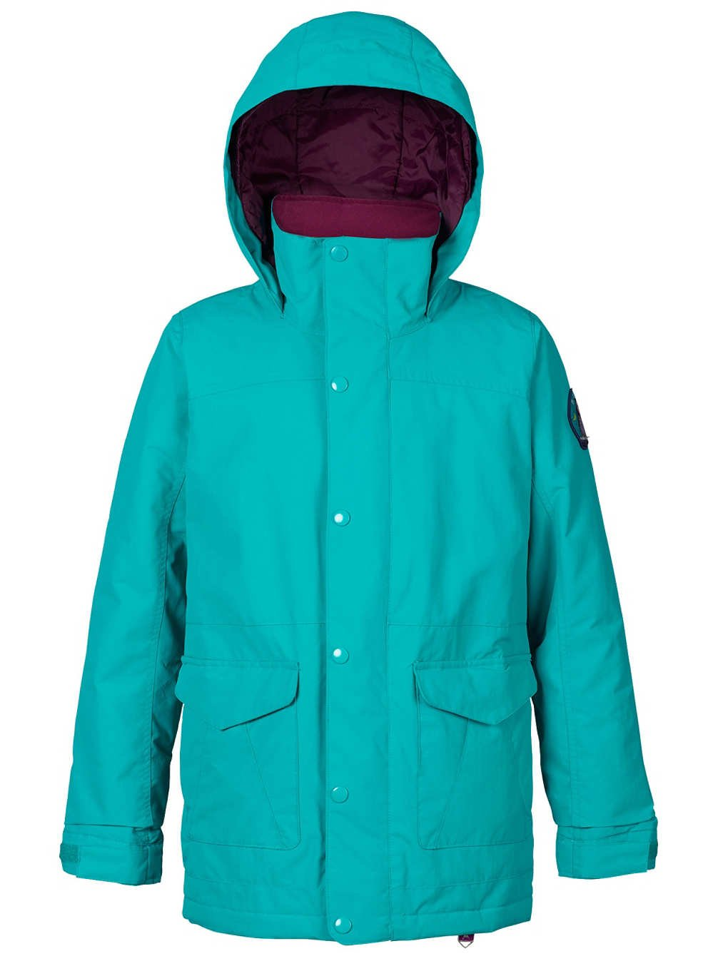 Burton Girls Youth Elstart Snow Jacket Everglade Size Large