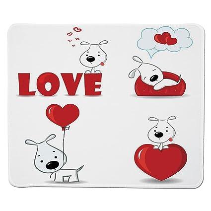 Amazon Mouse Pad Unique Custom Printed Mousepad Love Decor