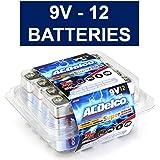 ACDelco Super Alkaline 9-Volt Batteries, 12-count