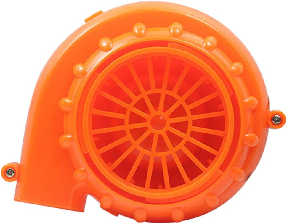 Orange ForHe Inflatable Fans Mini Fan Blower for Inflatable Dinosaur Costume