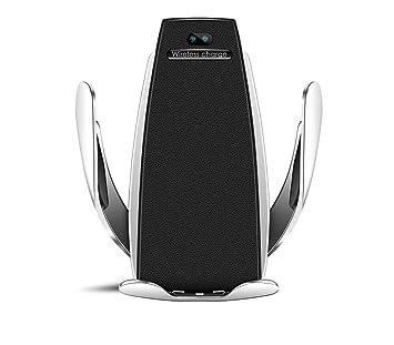 Cargador y soporte inalámbrico automóvil: Amazon.es: Electrónica