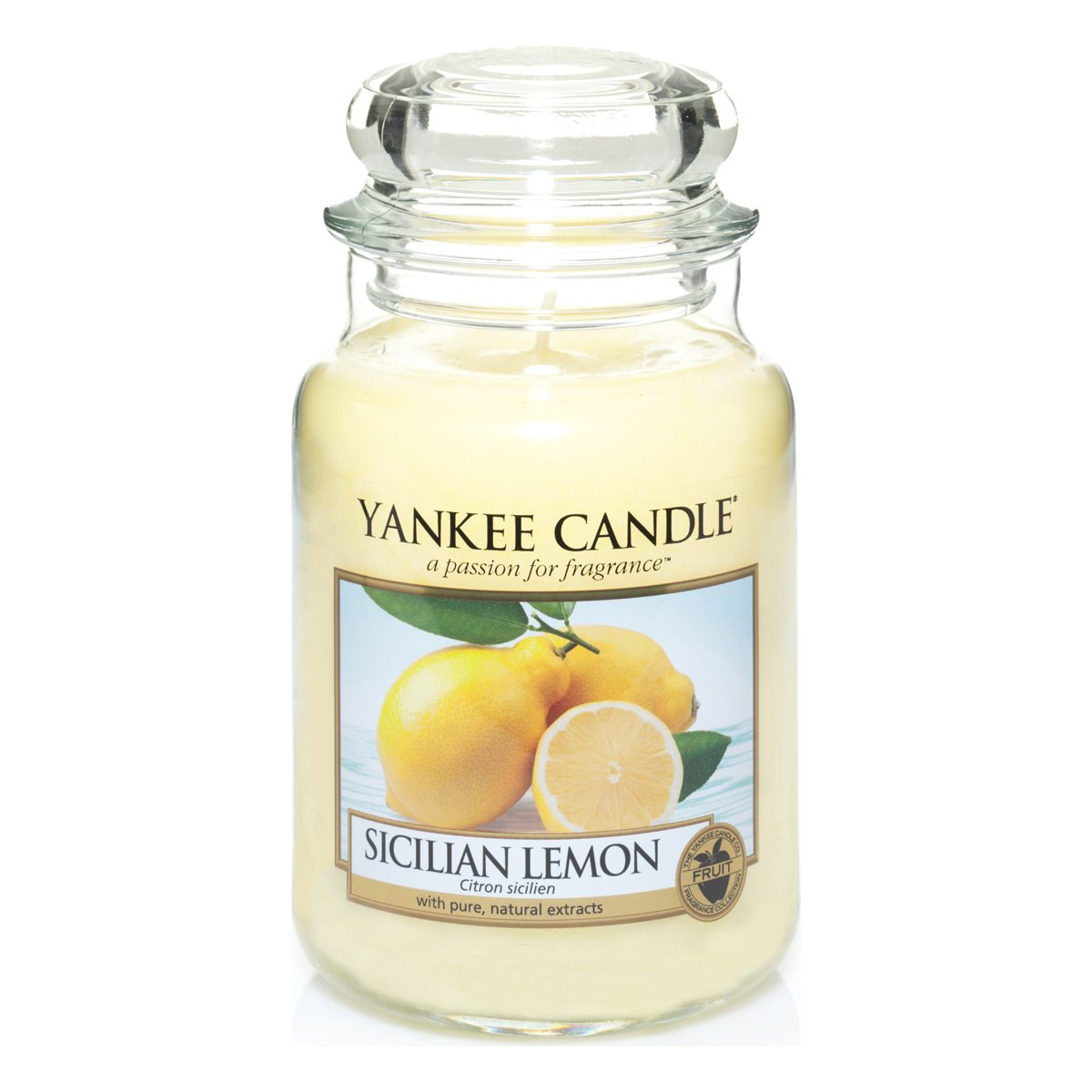Yankee Candle Large Jar Candle, Sicilian Lemon 1230635E