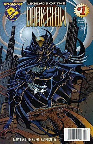 Legends Dark Claw - LEGENDS OF THE DARK CLAW #1, APRIL 1996