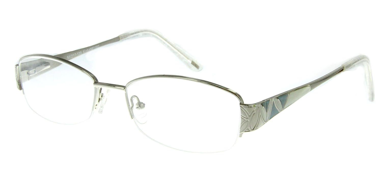 3ba2f69e6f0 Amazon.com  Aloha Eyewear Tek Spex 1002 Women s Photo-Chromatic Progressive  Bifocal Reader Glasses Sunglasses (Chrome w Regular Tint +2.00)  Health ...