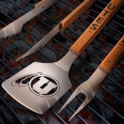 Sportula NCAA Utah Utes Classic Series 3-Piece BBQ Set