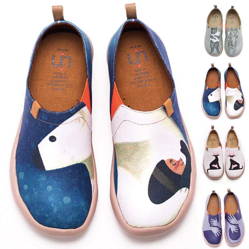 UIN UIN S'embrasser Chaussures bateaux B071NZ8Z84 de toiles toiles bleu pour femme - bdfad3b - robotanarchy.space
