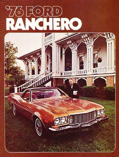 1976 Ford Ranchero Sales Brochure Squire 500 GT Deluxe (Ranchero Brochure)
