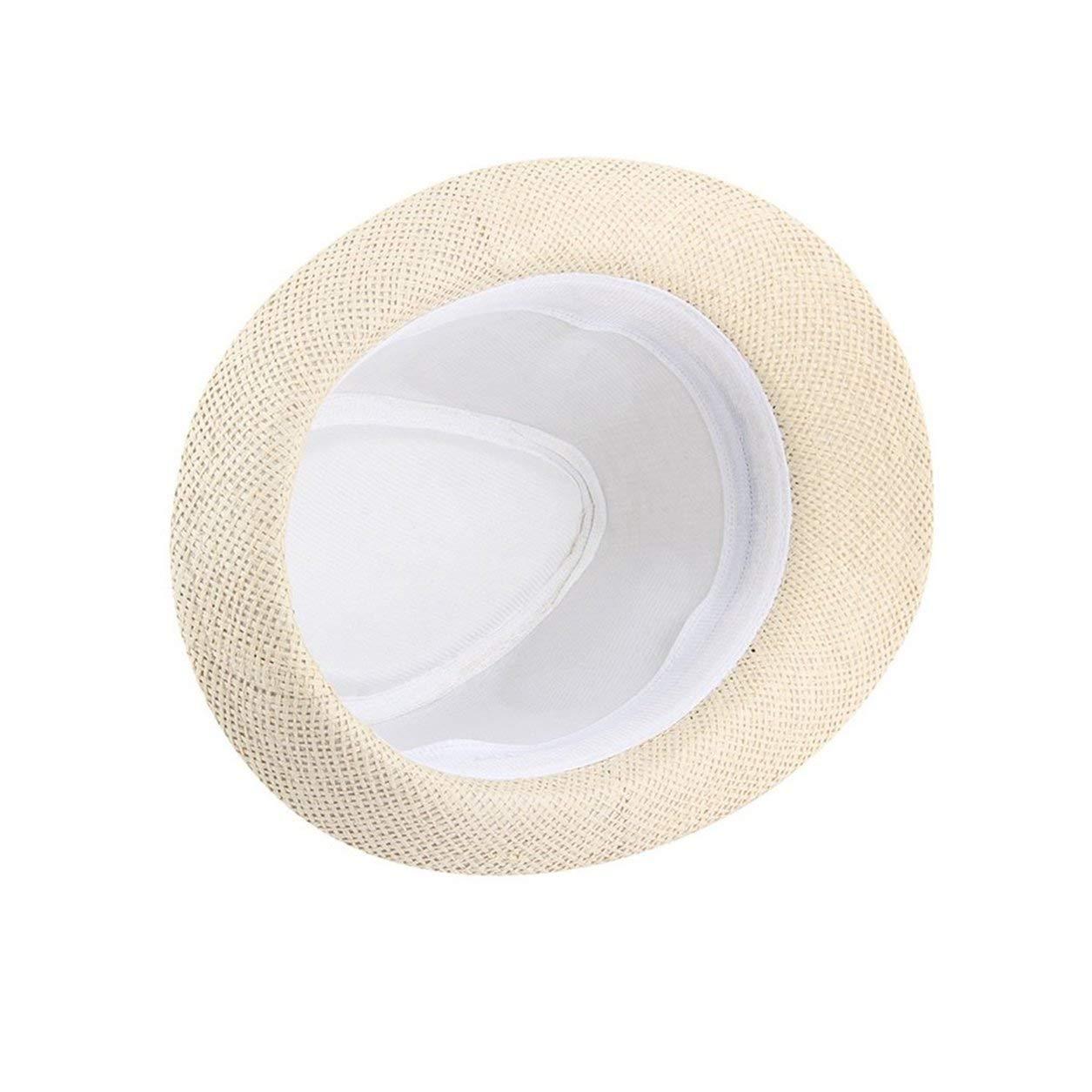 Dailyinshop Estate Stile Neutro Unisex Casual Cotone Cappelli Panama Cappelli Jazz Cappello Fedora Fit in Forma con Qualsiasi bardature estive Kaki