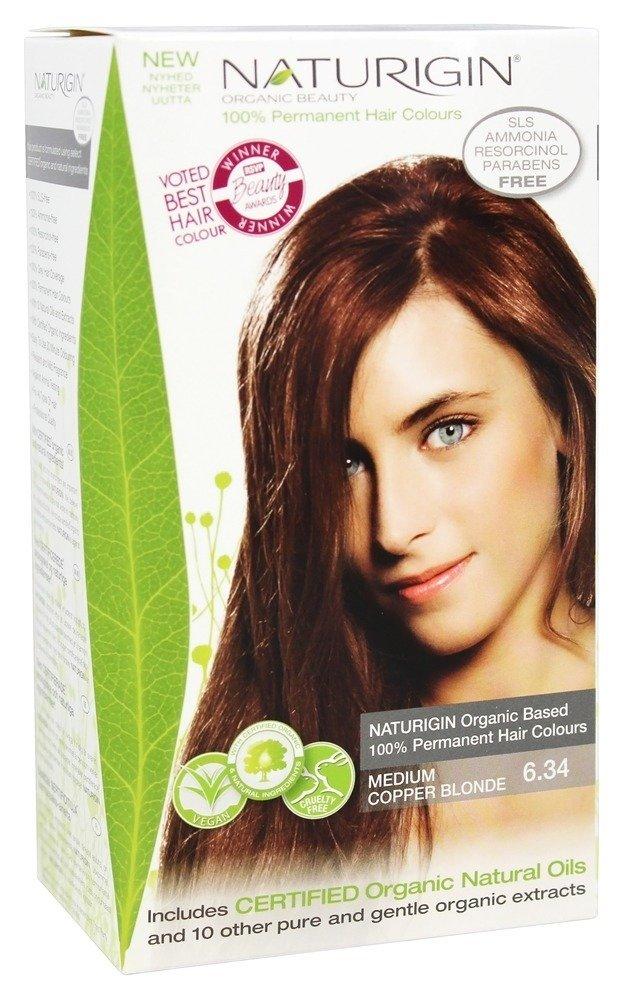 Buy Naturigin 100 Permanent Hair Colour Medium Copper Blonde 634