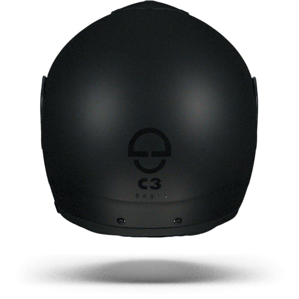 CASCO MODULARE C3 BASIC NERO OPACO SCHUBERT TAGLIA 58//59 L