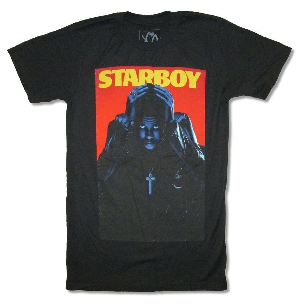 The Weeknd Star S T Shirt Adult 4790