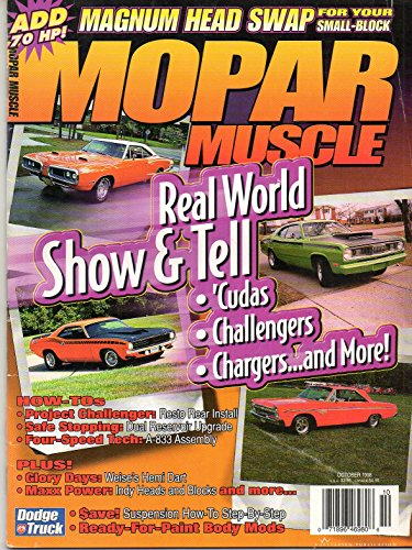 Mopar Muscle Magazine (October 1998)