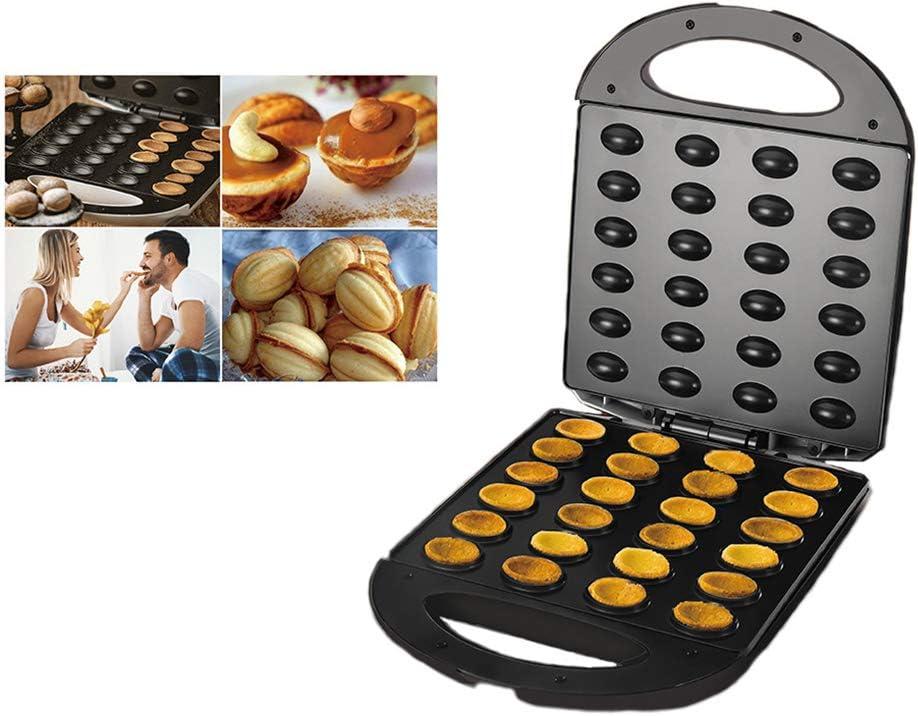 lzndeal Electric Walnut Cake Maker Automatic Mini Nut Machine ...