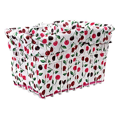 Cruiser Candy 2014 Reversible Bike Basket Liner (Cherry Pie)