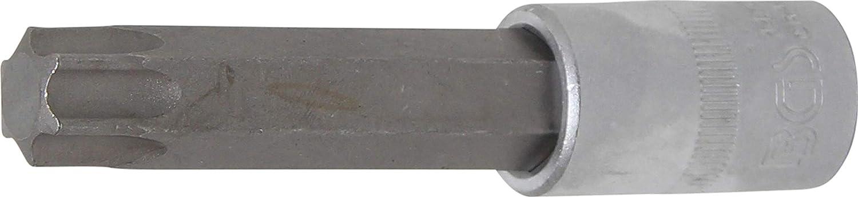 | perfil en T BGS 4477 longitud 100 mm T70 Punta de vaso entrada 12,5 mm 1//2 para Torx