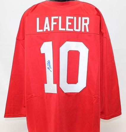 quality design 6d711 457c0 Guy Lafleur Autographed Signed Team Canada Jersey - JSA ...