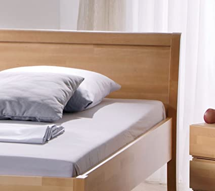 hasena comodidad cama Arino Altura Regulable haya maciza con cabecero 120 x 200: Amazon.es: Hogar