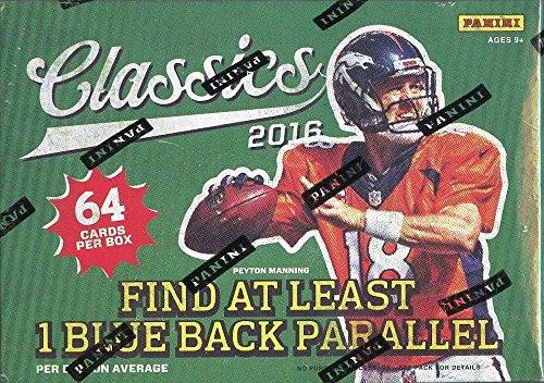 Blaster 8 Pack Trading Cards - 2016 Panini Classics Football Trading Cards Sealed 64 card Retail Blaster Box Lot 8 Packs Look for Rookies of Dak Prescott & Ezekiel Elliott