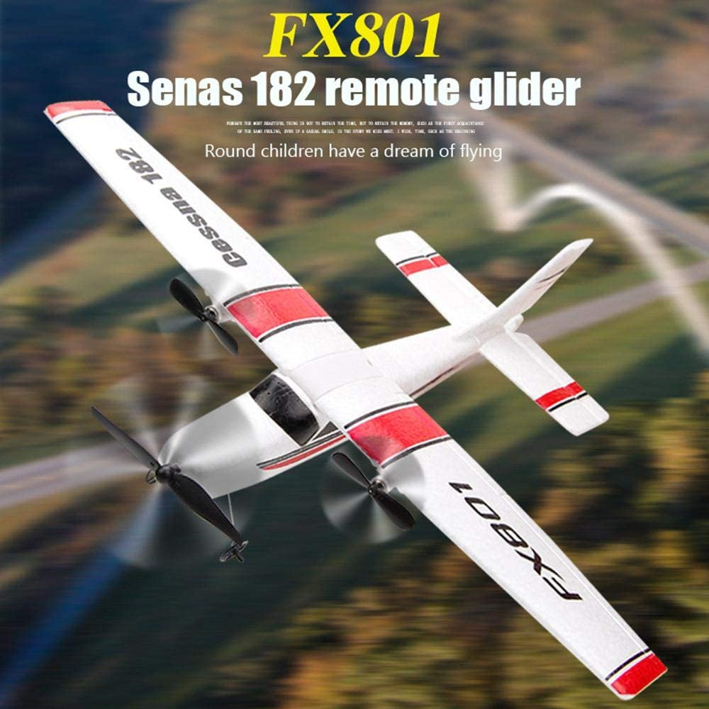 13 Pcs FX801 Foam Airplane Glider RTF RC Airplane Automatic Balance Airplane Ready to Fly RC Plane Glider Airplane Aircraft Toy Gift Airplane Toy for Adults and Kids RC Glider Plane