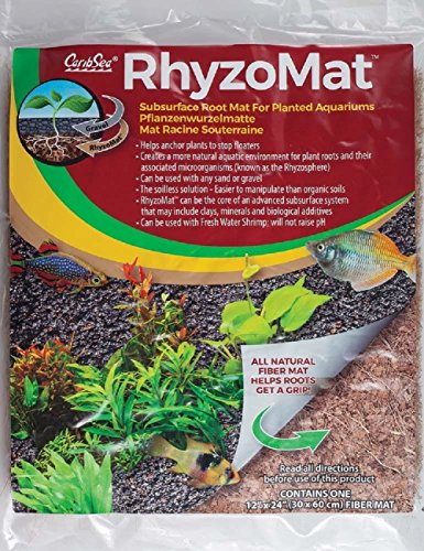 CaribSea Aquatics Rhyzomat Subsurface Root Mat, 12'' x 12'' by CaribSea Aquatics