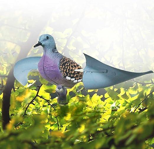 XFC-Decoy, Cebo de Aves en Forma Realista Ornamento Exterior Simulación decoración del jardín Scarer con el ala no tóxico Señuelo de Caza señuelo del Vuelo 3D: Amazon.es: Hogar