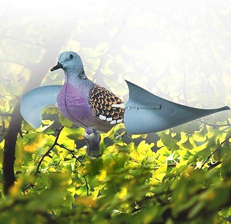 SHIYM-señuelos, Cebo de Aves en Forma Realista Ornamento Exterior Simulación decoración del jardín Scarer con el ala no tóxico Señuelo de Caza señuelo del Vuelo 3D: Amazon.es: Hogar