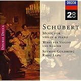 """Schubert : Oeuvres pour violon et piano - Sonate """"Arpeggione"""""""