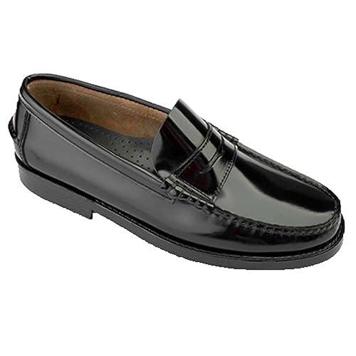 Castellanos Tallas Grandes del 47 al 48 EdwardŽs en Negro: Amazon.es: Zapatos y complementos