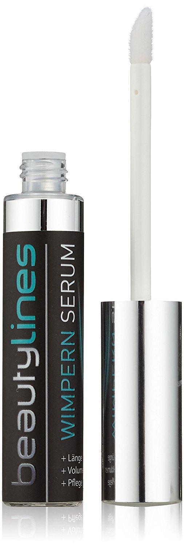 Beautylines Wimpern Serum 2.0 Verbesserte Formel, Wimpern-Augenbrauen-Booster Serum, 1er Pack (1 x 6ml) Beautylines Rosina Moser 001