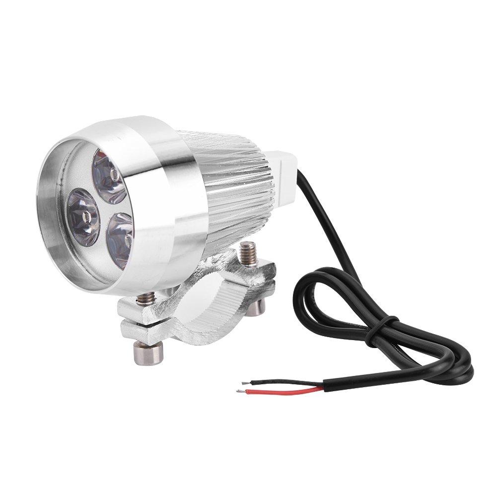 Linternas universales de la motocicleta del LED linterna de la luz 6000K de la luz del punto de la l/ámpara de la niebla de 40W para la bici el/éctrica