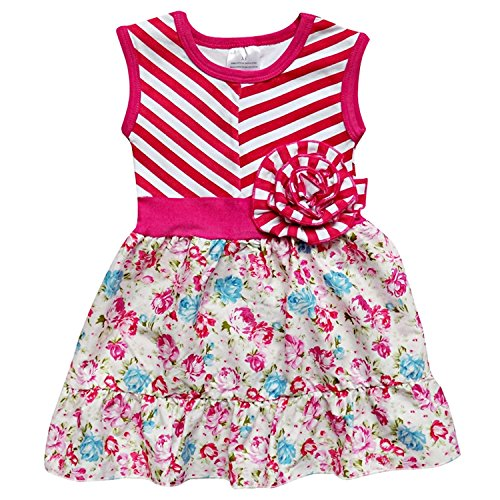so-sydney-toddler-girls-tank-style-strappy-style-spring-summer-boutique-dress-l-5-chevron-hot-pink-f