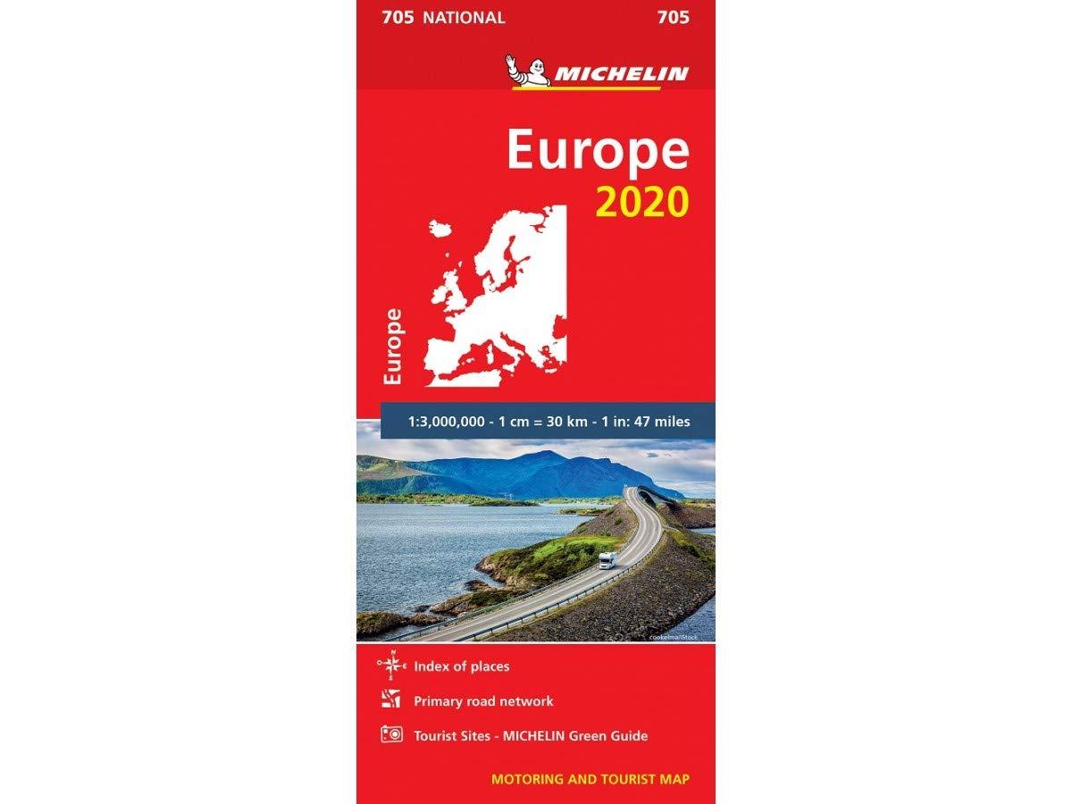 Europe 2020 - Michelin National Map 705 Michelin National Maps: Amazon.es: michelin: Libros en idiomas extranjeros