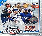 2019 Topps Chrome Update MLB Baseball MEGA box