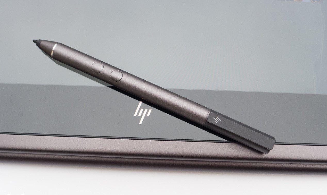 HP Stylus Active Pen for HP Spectre x360 13-AC023DX, X2 12-C012DX, 13-AC013DX, 13-AC033DX, 15-BL012DX, 15-BL112DX, HP ENVY 360 15M-BP012DX, + Best Notebook Stylus Pen Light (Dark Ash Silver)
