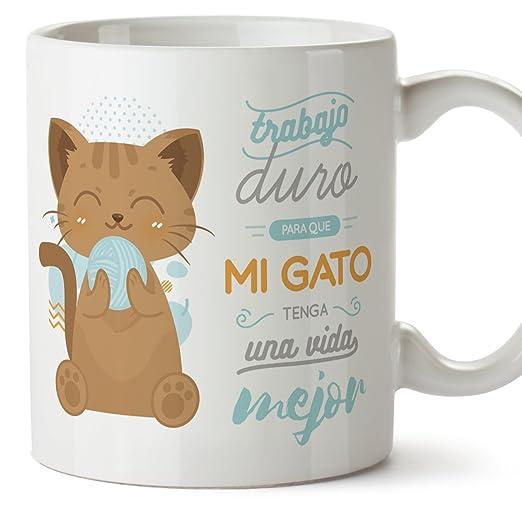 MUGFFINS Tazas Desayuno Originales graciosas para Amantes de los ...