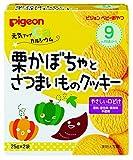 2 bags Pigeon baby snack healthy up calcium chestnut pumpkin and sweet potato cookies input ~ 12 pieces