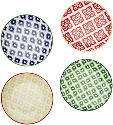 - Paperproducts Design 30002 Belize Salad/Dessert Plate Set Of 4, 8.25
