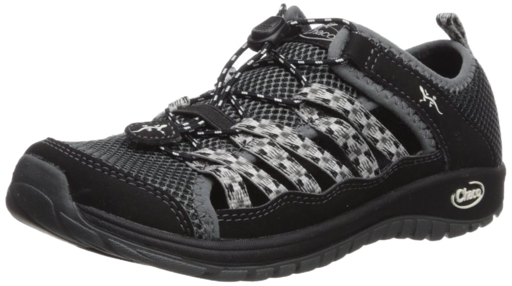 Chaco Kids' Outcross 2 Water Shoe, Black, 13 M US Little Kid