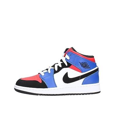 6a27ca61f1f673 Nike Girls  Boys  Air Jordan 1 Mid (gs) Shoe Basketball