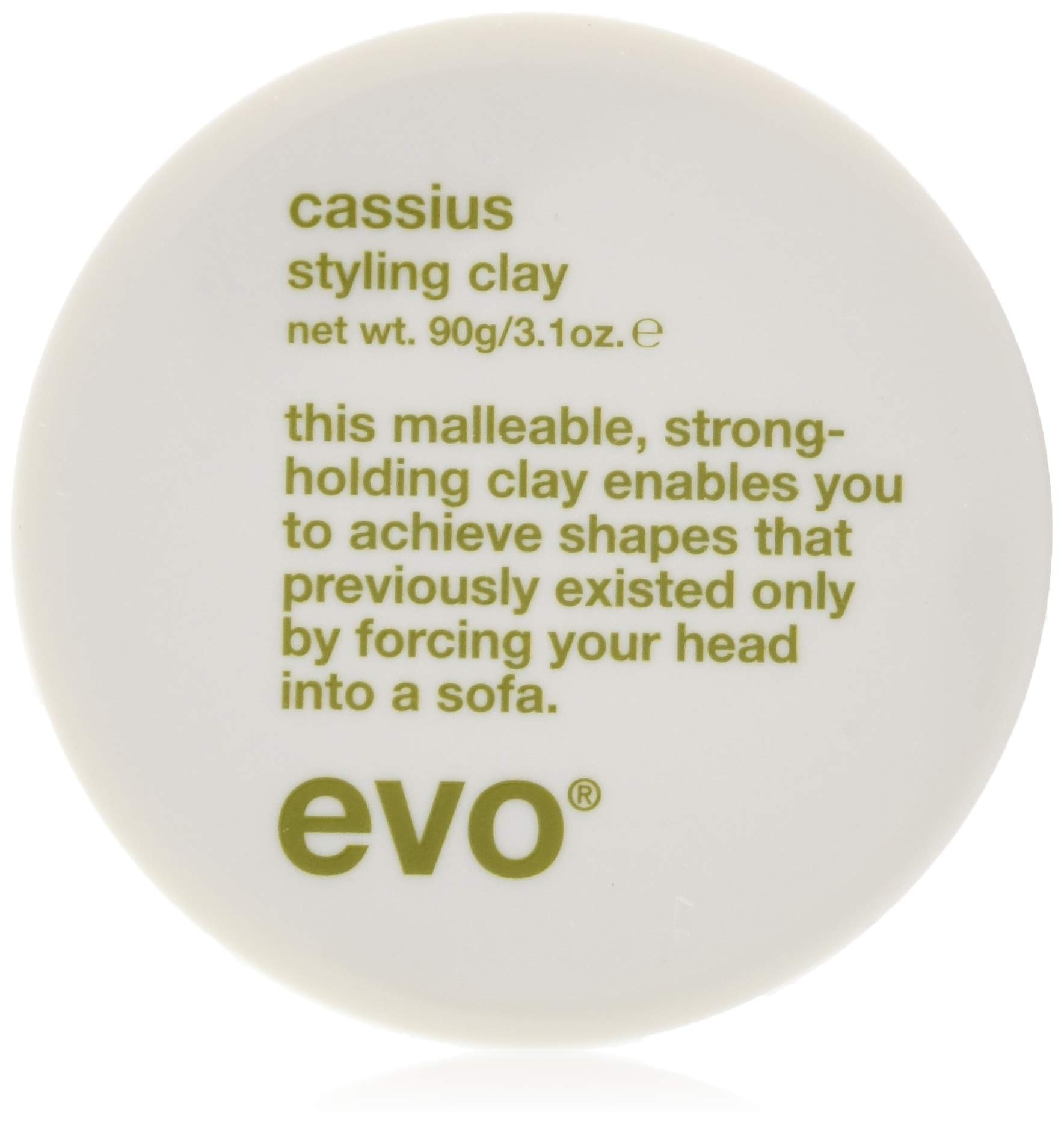 Evo Cassius Styling Clay, 3.1 Oz by EVO