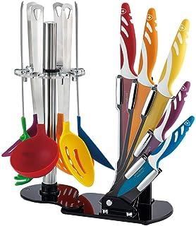 Compra Cenocco - Juego de 8 cuchillos afilados de cocina ...