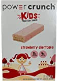 Power Crunch kids Snap Sticks Strawberry Shortcake 5ct box of 1